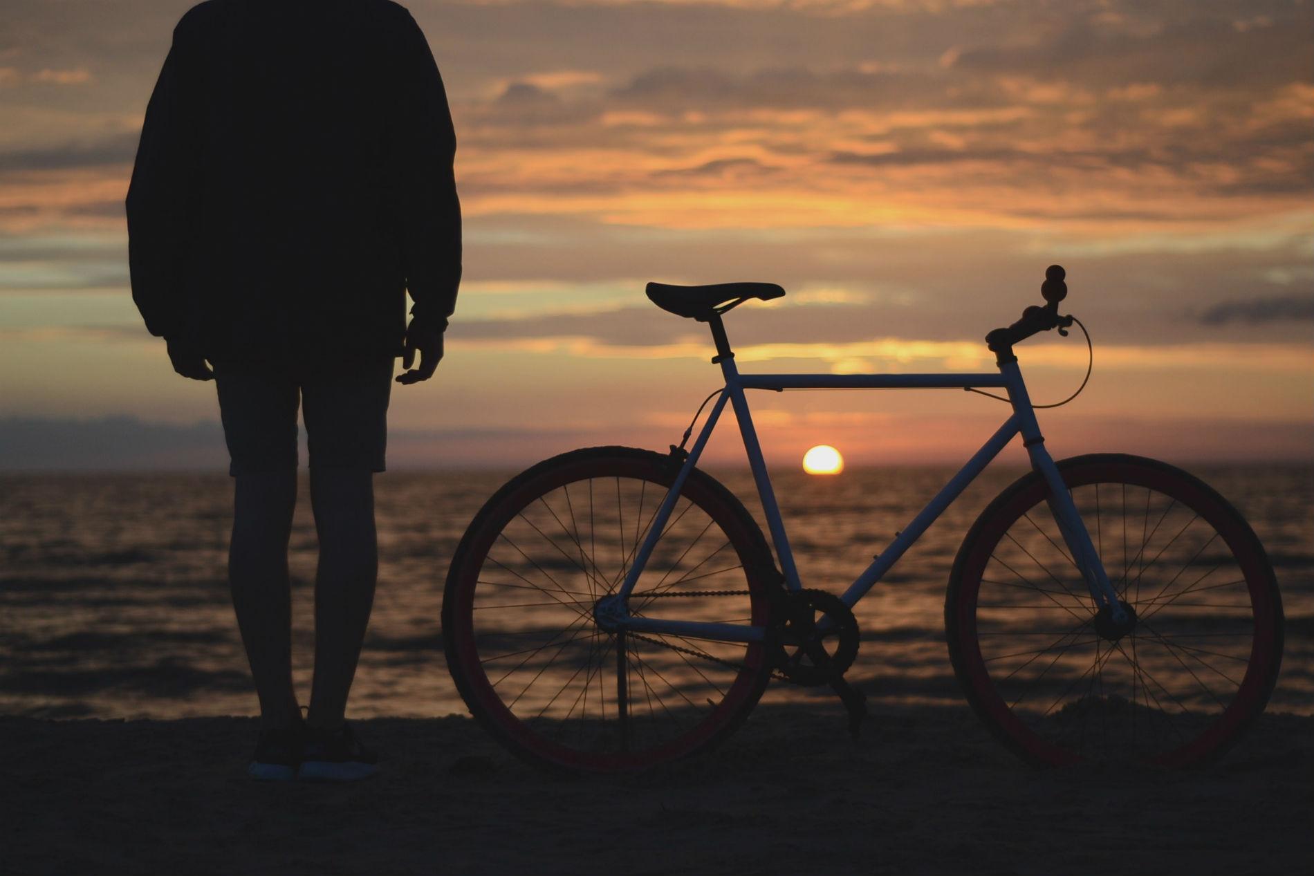 Biking by the Beach